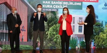 Kiptaş Çınar Evler'in Hak Sahipleri Kurayla Belirlendi