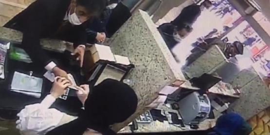 İranlı Yankesici Döviz Bürosunda Dolar Çaldı