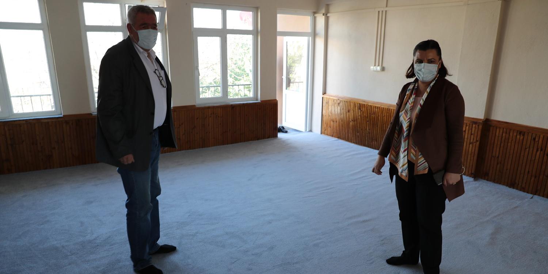 İzmit Belediyesi Mecidiye Cemevi'ni Yeniledi