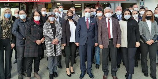 Körfez'de DEVA, İYİ Parti'ye Konuk Oldu