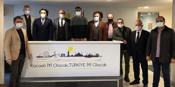 Lastik-İş Sendikası'ndan İYİ Parti'ye Ziyaret