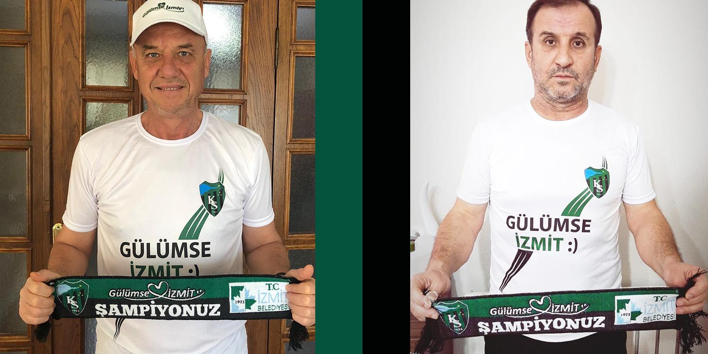 Kocaelispor'da Şampiyonluk Yaşayan İsimlere Hediye