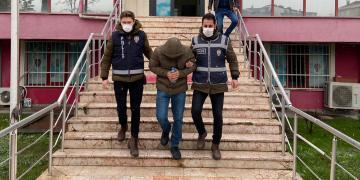 3 Ayrı Eve Giren Hırsız Tutuklandı