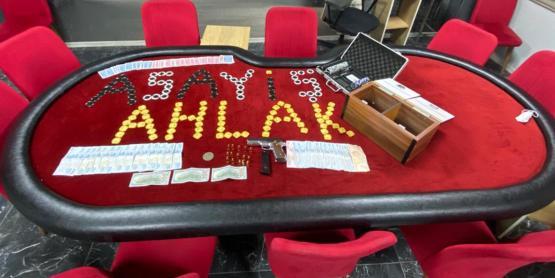 Kumar Oynanan İşletmeye Polis Baskını
