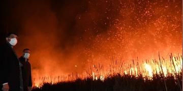 Kartepe Acısu'da Korkutan Yangın