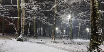 Muhteşem Kar Manzarası Gölcük Eriklitepe'den