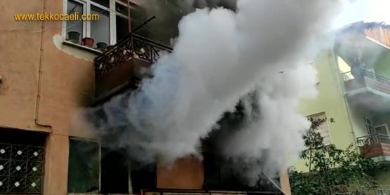 İzmit Mehmet Ali Paşa'da Yangın