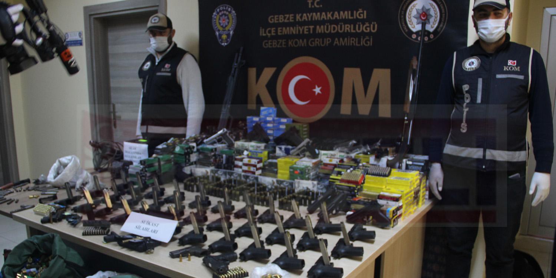 Silah Üretimi Yapılan Mekâna Polis Baskını