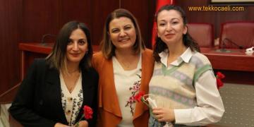 Fatma Başkan'dan Kadın Personellere Sürpriz