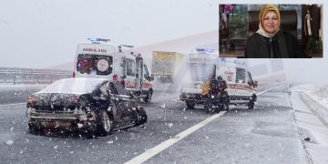 Ak Partili Belediye Başkanı Kocaeli'de Kaza Yaptı