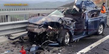 Otomobil TIR'ın Altına Girdi; Ölü Var