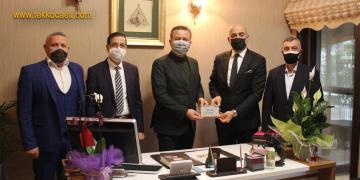İzmit Kent Konseyi'nden Ali Korkmaz'a Ziyaret