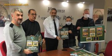Kocaelisporlular'a Sürpriz Başkan Hürriyet'ten