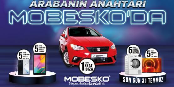 Arabanız MOBESKO'dan