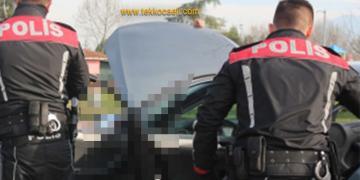 Dur İhtarına Uymayan Araç Polisten Kaçamadı