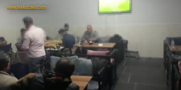 İzmit'te Kafeye Polis Baskını