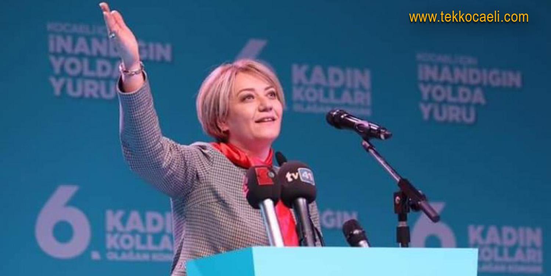 Ak Parti Kadın Kolları Başkanı Özdemir Korona Oldu