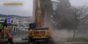 Tekel Duvarı Yıkıldı; Büyükşehir'den Açıklama…
