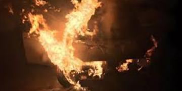 Öfkeli Koca Eşinin Aracını Ateşe Verdi