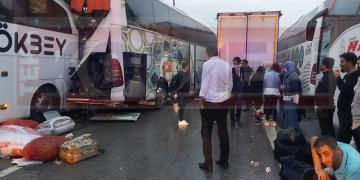 Facia Gibi Kaza; Çok Sayıda Yaralı Var