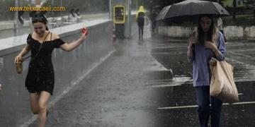 Meteoroloji Yine Uyardı; Marmara'ya…