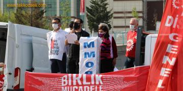 DİSK'in 1 Mayıs Kutlamasında Hürriyet'in Mesajı Okundu