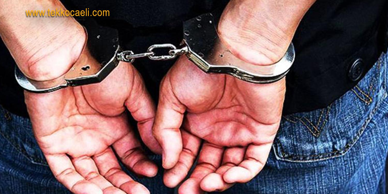 17 Yıl Cezayla Aranan Şahıs İzmit'te Yakalandı