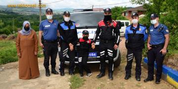 Polisleri Çok Seviyordu; Hayali Gerçek Oldu