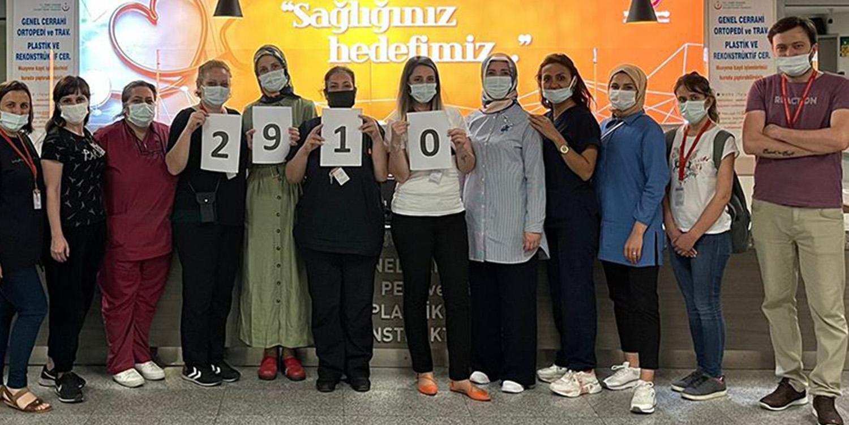 Kocaeli Devlet Hastanesinde Rekor