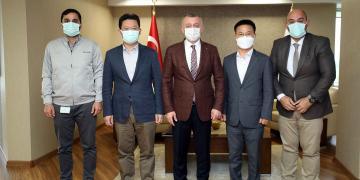 Başkan Büyükakın, Hyundai ile Ustam Projesini Konuştu