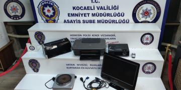 Başiskele'de Hırsızlık; Yakalanan Üç Kişi Suç Makinesi Çıktı