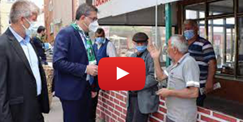 CHP'nin Akmeşe Ziyaretinden Görüntüler; İşte Gerçek….