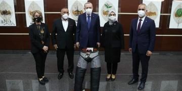 Cumhurbaşkanı Erdoğan'a Kispet Hediye Ettiler