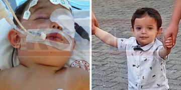 3. Kattan Düşen 1,5 Yaşındaki Siraç Öz'ün Ailesi, Dua Bekliyor