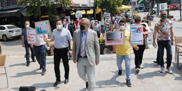 Kocaeli'de 'AŞI' Alarmı; Sağlıkçılar Sokağa İndi