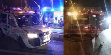 Otomobil Panelvan Araçla Çarpıştı; Yaralılar Var