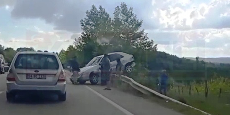 İzmit Kandıra Yolunda Kaza