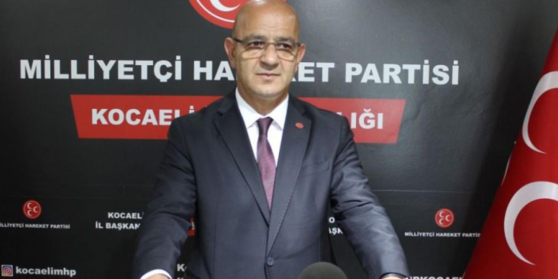 MHP Kocaeli'de Aydın Ünlü Dönemi Sona Erdi