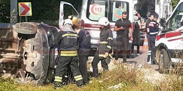Kandıra'da Feci Kaza; 6 Yaralı