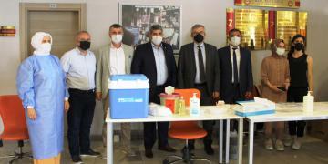 KOTO'nun Okulunda 106 Öğrenci Aşı Oldu