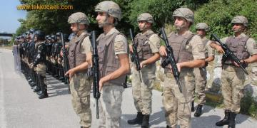 Kocaeli'de Jandarma Asayiş Komando Bölüğü Kuruldu