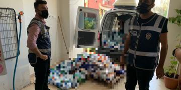 Taklit Detarjan Üretilen Depoya Polis Baskını