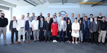 Büyükakın, Balkan ve Rumeli Derneklerinin Başkanlarıyla Buluştu