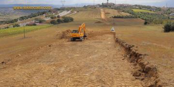 İzmit Belediyesi Kabaoğlu'nda Yeni İmar Yolu Açtı