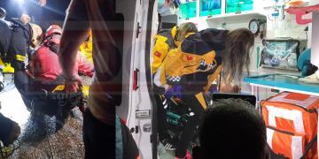 UTV ile 40 Metreden Aşağıya Uçtular; Yaralılar Var