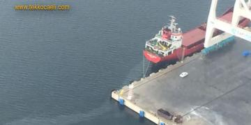 İzmit Körfezi'ni Kirleten Gemiye Ceza