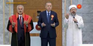 Yargıtay Başkanı Cübbesiyle Dua Etti; Adli Yıl Açıldı