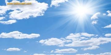 Kocaeli'de Havalar Serinliyor; Tarih Verdi