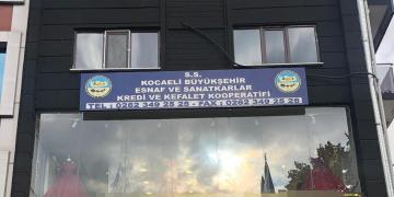 S.S Kocaeli Büyükşehir Esnaf Kredi ve Kefalet Koop. Yeni Adresinde