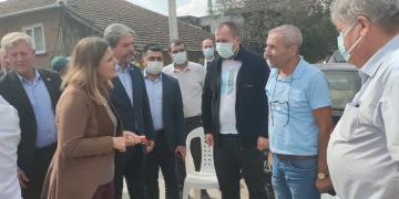 Başkan Hürriyet, Balören'de Atmaca Ailesinin Acısını Paylaştı